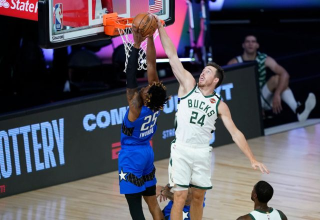 Pat Connaughton of the Milwaukee Bucks