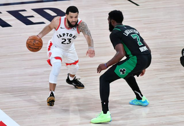 Fred VanVleet of the Toronto Raptors