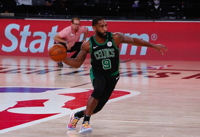 Brad Wanamaker of the Boston Celtics