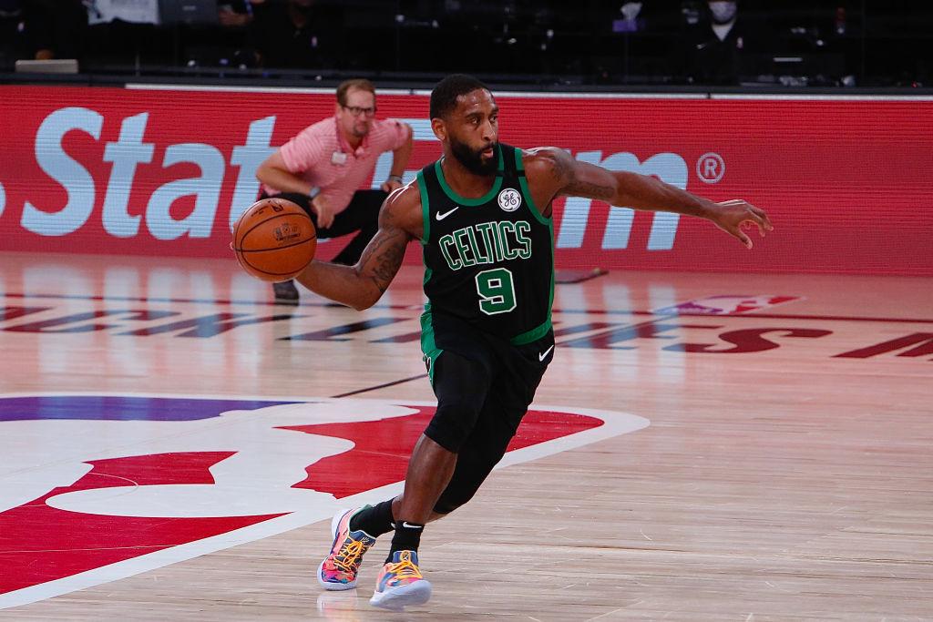Brad Wanamaker of the Boston Celtics