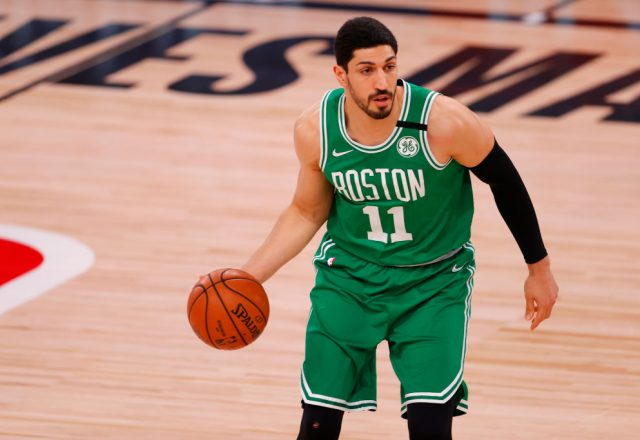 Enes Kanter of the Boston Celtics
