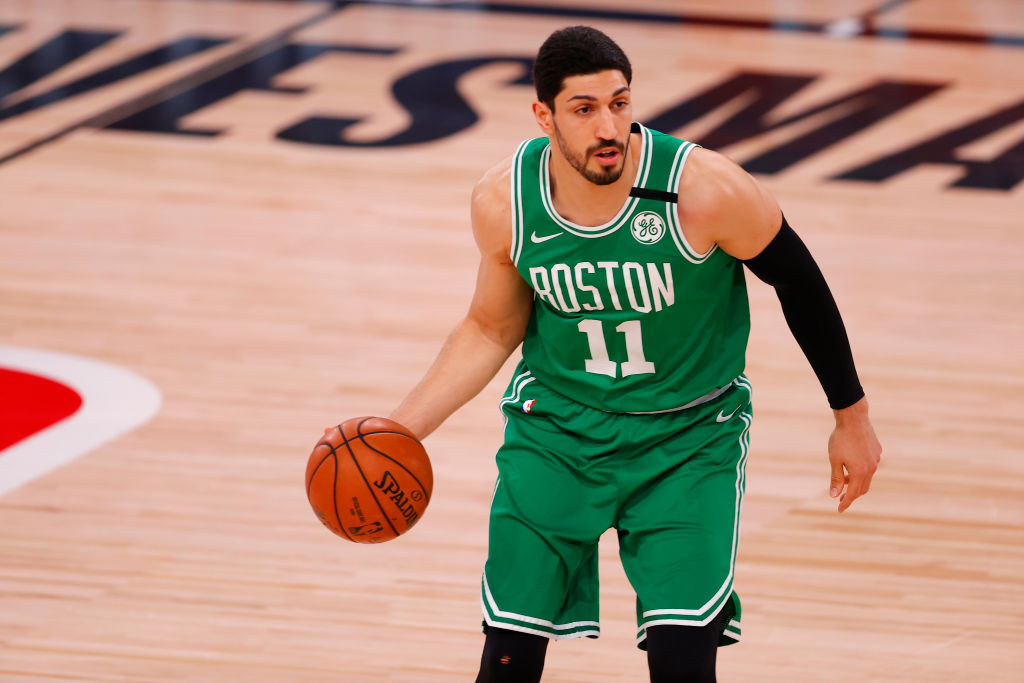 Enes Kanter of the Boston Celtics