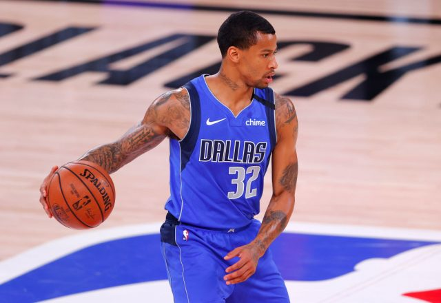 Trey Burke of the Dallas Mavericks