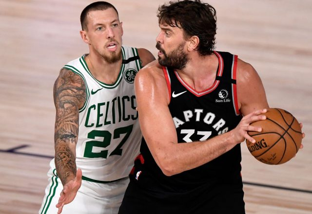 Marc Gasol of the Toronto Raptors