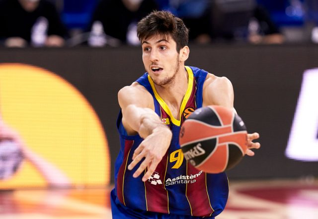 Leandro Bolmaro of Barcelona