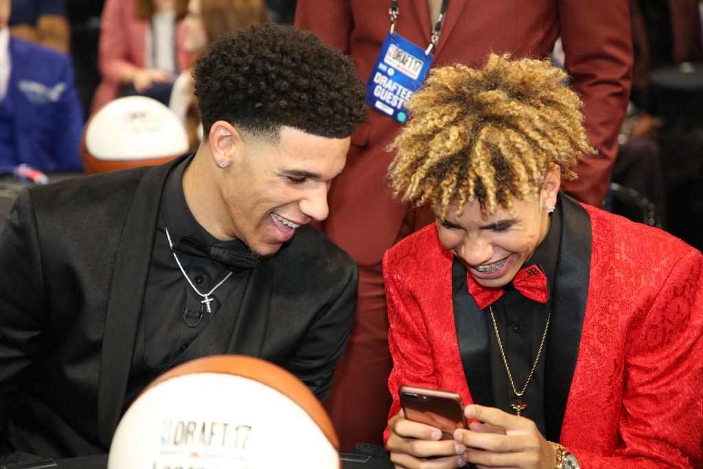 Lonzo Ball On Guarding Lamelo In The Nba I Know His Game Pretty Well Slam