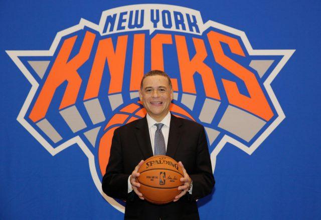 Scott Perry of the New York Knicks