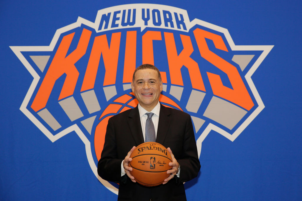 Scott Perry of the New York Knicks