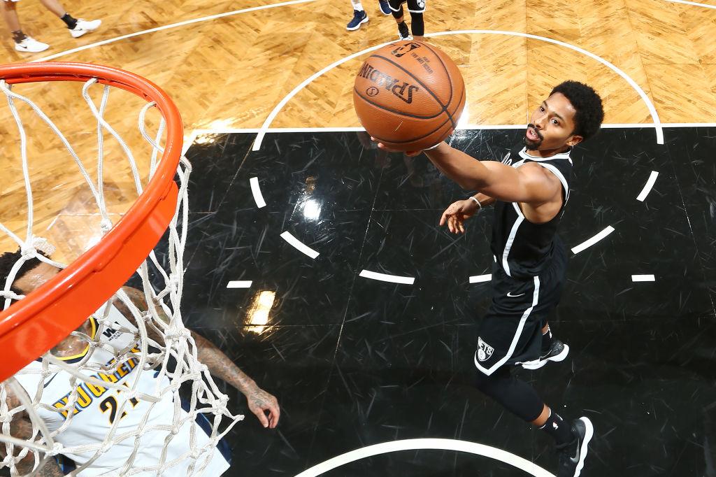 Spencer Dinwiddie of the Brooklyn Nets