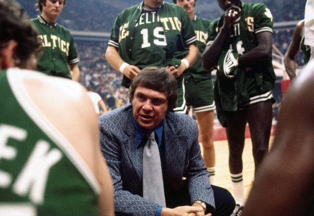 Tom Heinsohn of the Boston Celtics