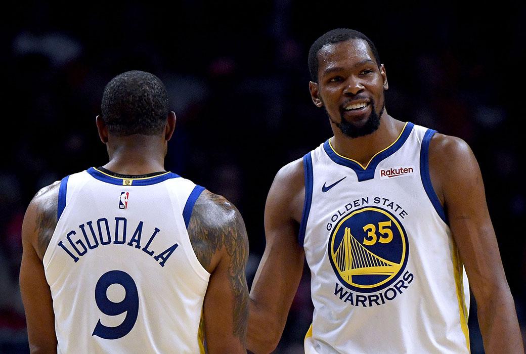 Andre Iguodala Predicts Kevin Durant Will Win 2021 MVP | SLAM