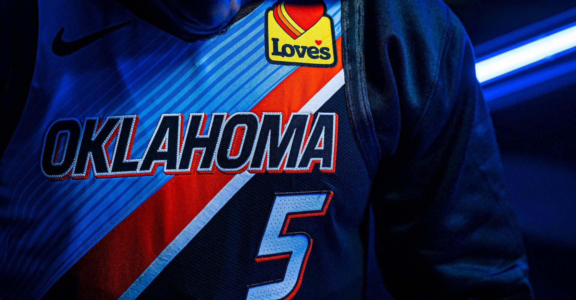 Oklahoma City Thunder City Edition Jersey