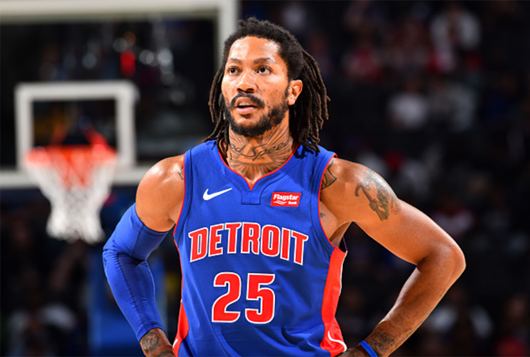 Derrick Rose Is Accepting His Role As A Veteran Player Slam