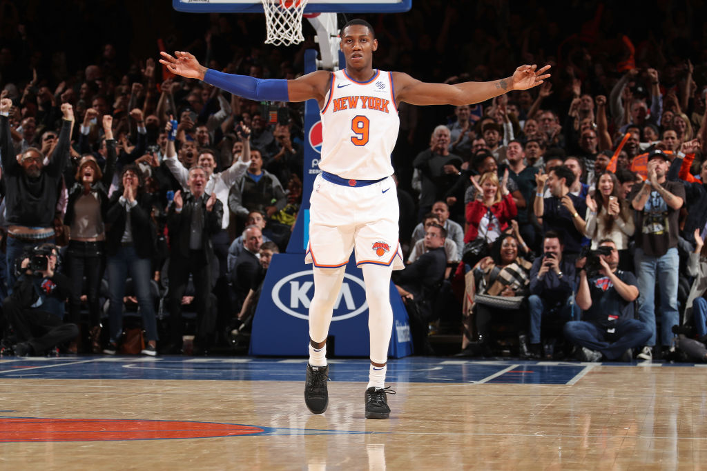 RJ Barrett Sees Silver Lining Without Fans At MSG | SLAM
