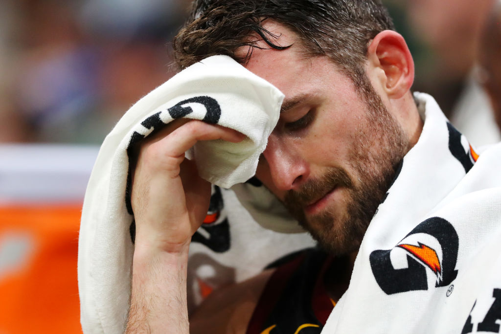 Kevin Love Set To Miss 3-4 Weeks With Calf Strain | SLAM