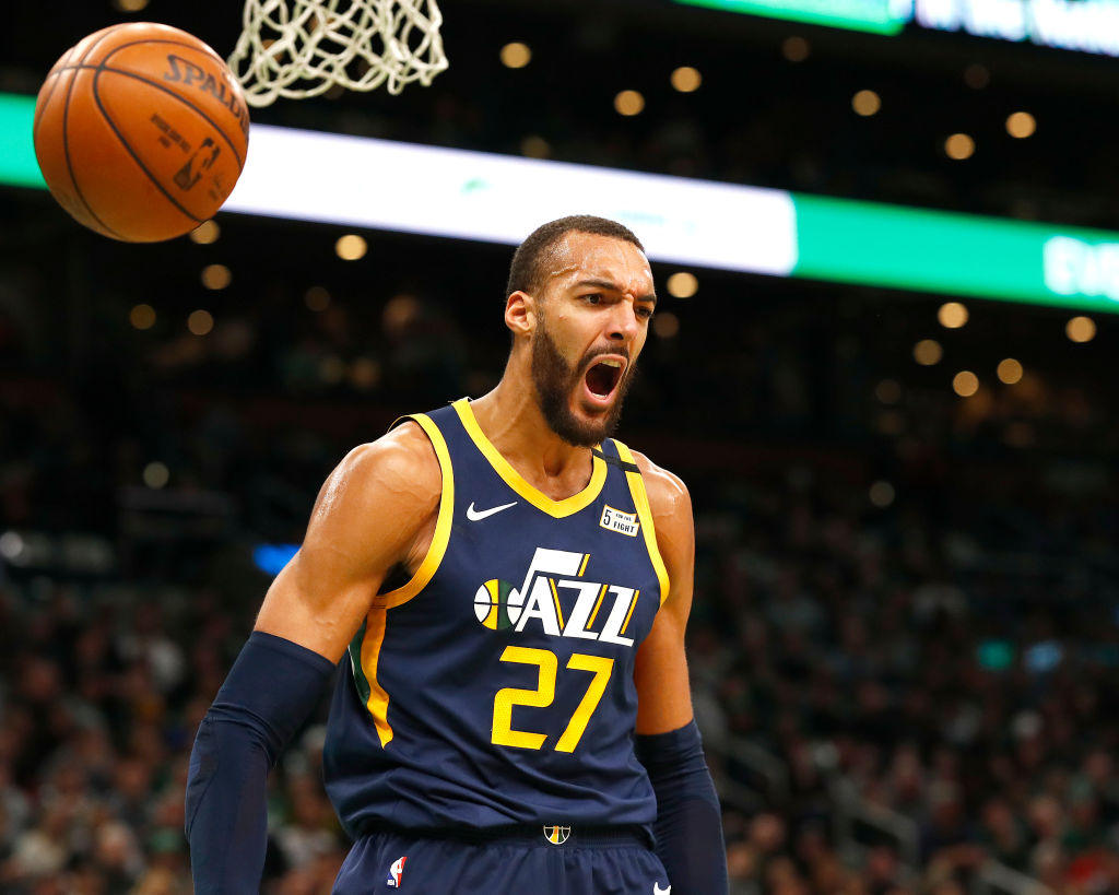 Jazz bet $205 million Rudy Gobert can lift them in the West