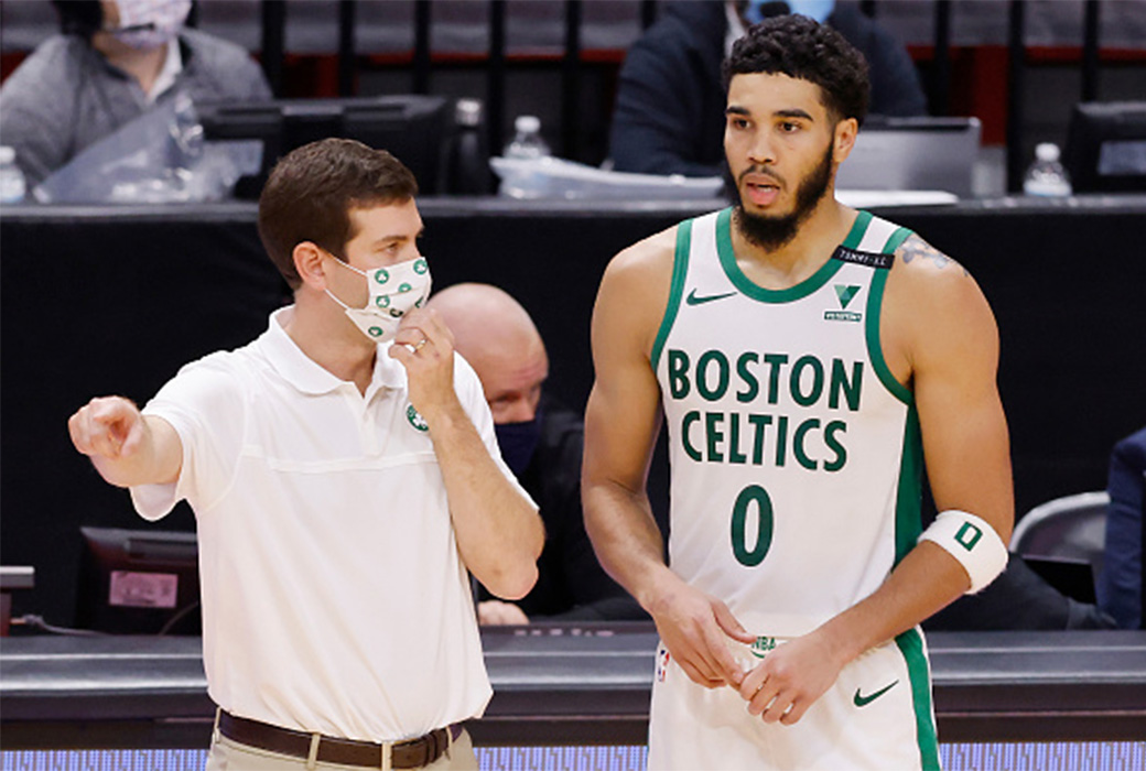 Despite Celtics Recent Struggles Jayson Tatum Backs Brad Stevens Slam