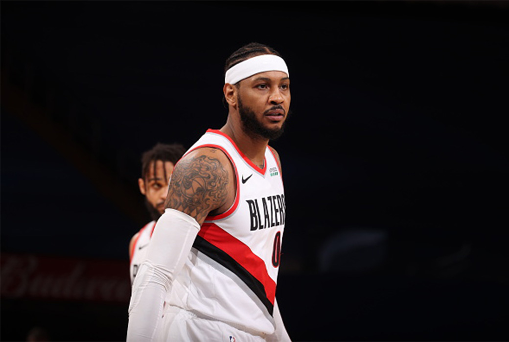 Carmelo Anthony Reaches No 12 On All Time Scoring List Slam
