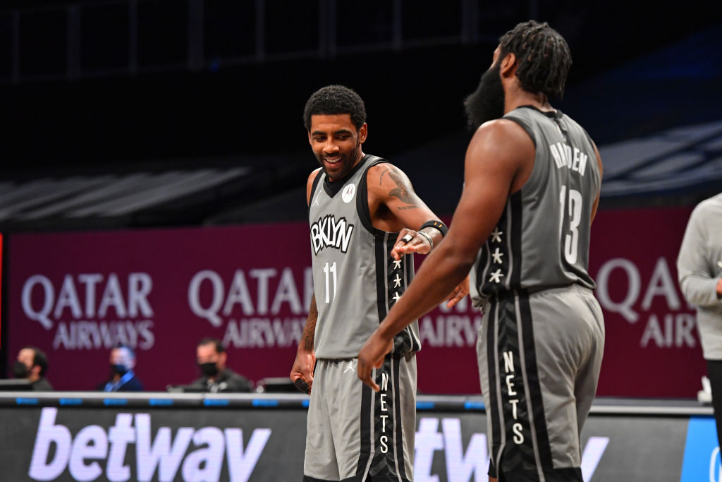 Kyrie Irving To James Harden: 'You're The Point Guard' | SLAM