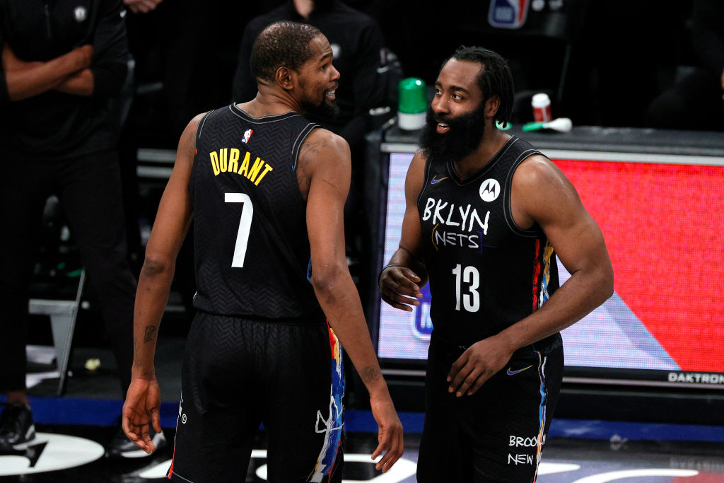 Kevin Durant Thinks James Harden's Defense Is 'Underrated' | SLAM