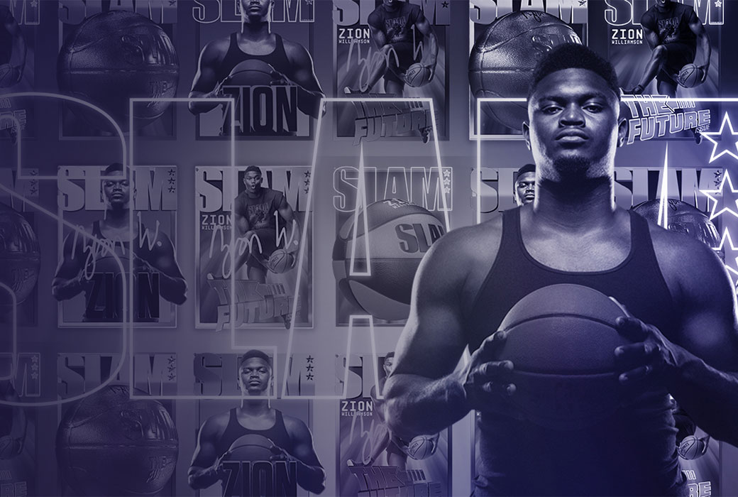 Zion Williamson's NFT Collection with SLAM Available NOW on OpenSea